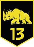 Logo 13 Lichte Brigade